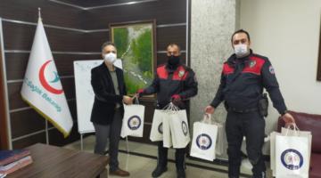 Emniyet Müdürü Fatih Kaya Lösemili Çocukları Unutmadı