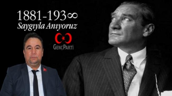 """Genç Parti'li Fahri KUŞ: """"Atamızı saygıyla anıyoruz"""""""