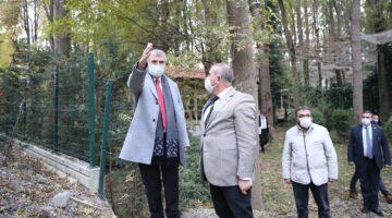 Başkan Yüce, Orman Park restorasyon çalışmalarını yakından inceledi…