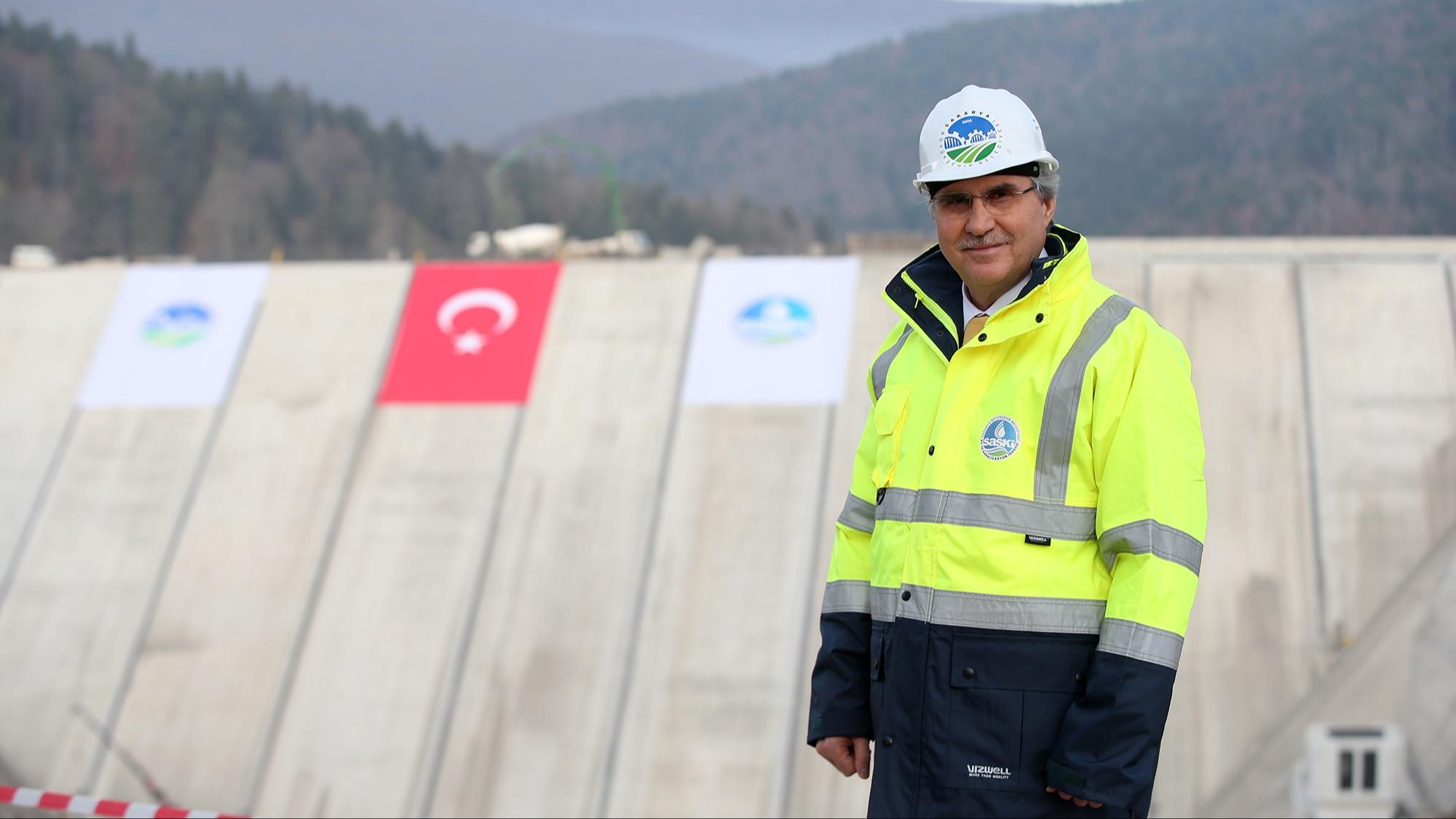 """Başkan YÜCE: """"20 ayda 562 kilometre altyapı hattı inşa ettik"""""""