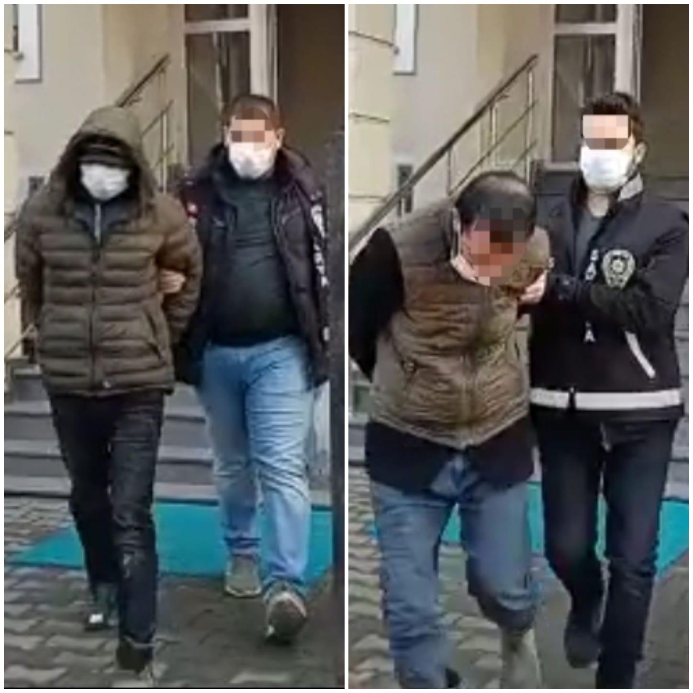 3 farklı hırsızlık olayının şüphelileri yakalandı