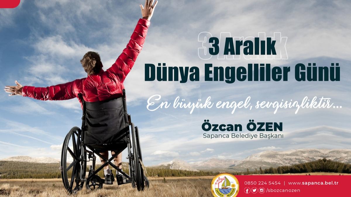 """Özcan ÖZEN: """"En büyük engeller zihinde ve kalptedir"""""""