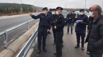 Albay Kutlu; 'Kuzey Marmara Otoyolu'nda incelemelerde bulundu