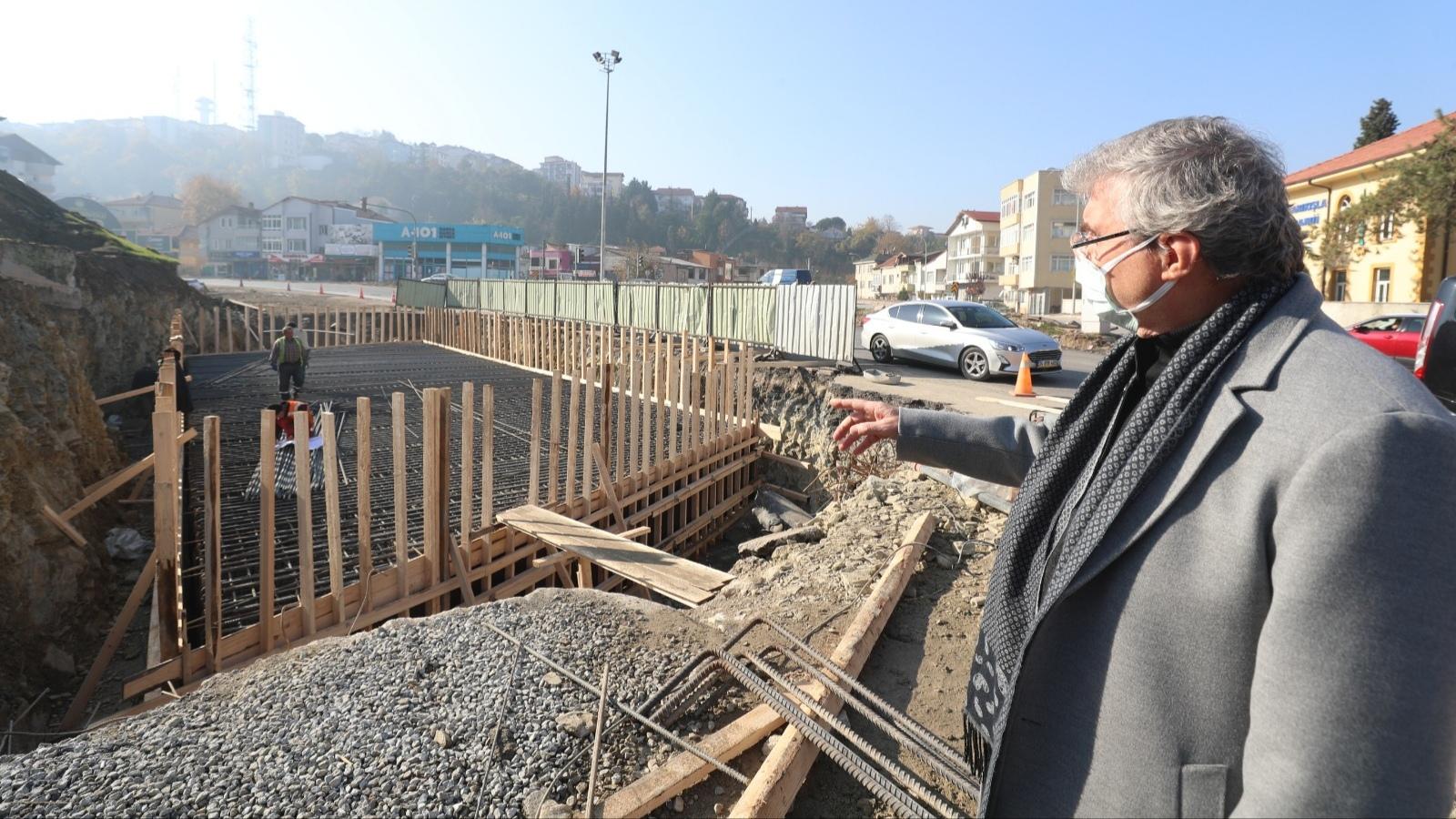 """YÜCE: """"SGK Köprülü Kavşağı ulaşımda yeni dönemin başlangıcı olacak"""""""