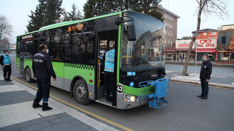 Toplu taşımada COVİD denetimleri artarak devam ediyor
