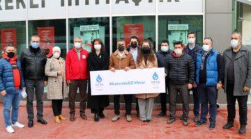 'Virüs Değil İyilik yayılsın'  #KanındaDEVAvar kampanyası başladı
