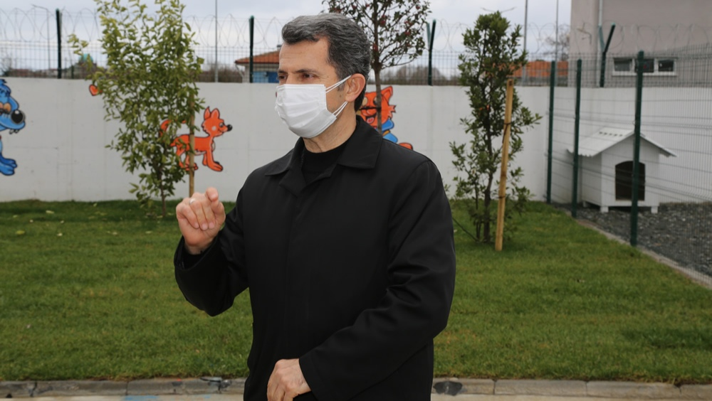 """Başkan Ahmet ACAR: """"Sevimli Dostlarımızın yeni yaşam alanı hayırlı olsun"""""""