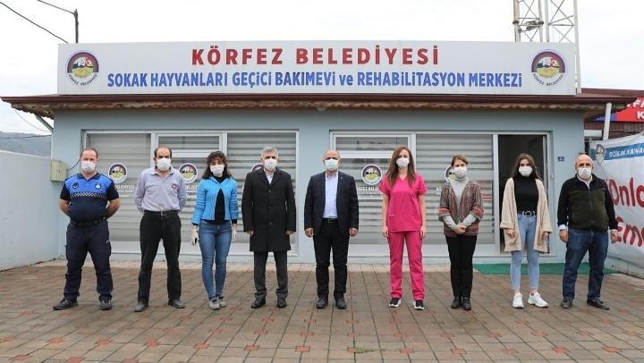 Başkan Şener SÖĞÜT; can dostları ziyaret etti