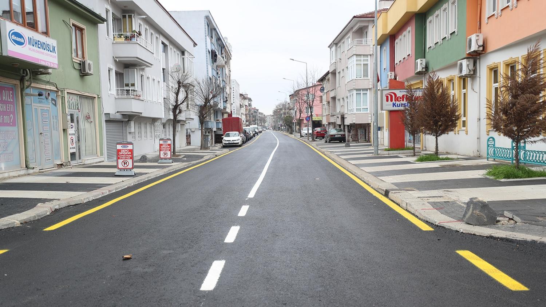 Kol Sokak'ta dönüşüm tamamlandı