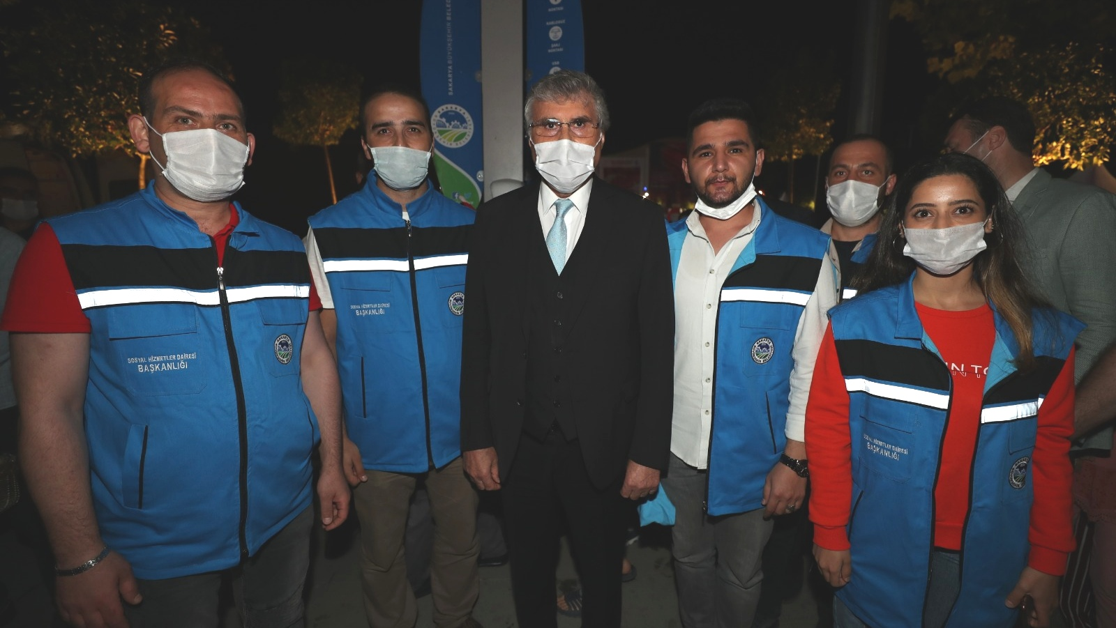 Başkan EKREM YÜCE, pandemi döneminde de vatandaşın yanında oldu…