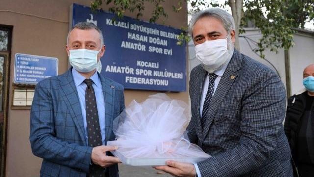 """Başkan BÜYÜKAKIN: """"Amatör spor Kocaeli'de daha da güçlenecek"""""""