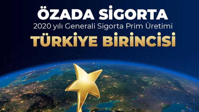 Sakarya'nın gururu Özada Sigorta, Türkiye 1. oldu