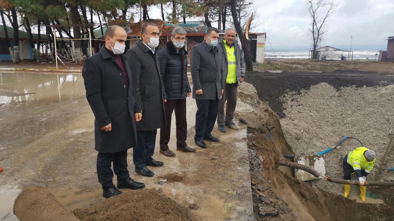 """""""Batı Karadeniz Caddesi'nde yaşanan yağmursuyu mağduriyeti gideriliyor"""""""