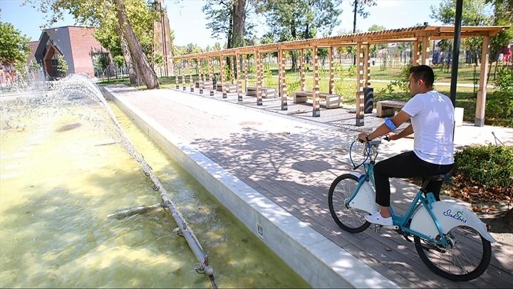 62 bin kiralama, 2,6 milyon dakika sürüş 2020'de Sakaryalılar bisikleti tercih etti