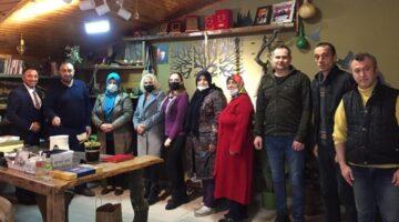 Çobanoğlu ve ekibi, Ajansımızı ziyaret etti