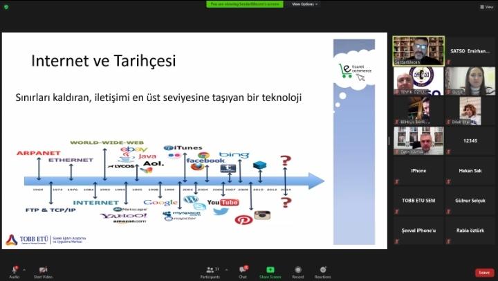 SATSO Üyelerine 'Dijital Ödeme Sistemleri Eğitimi'