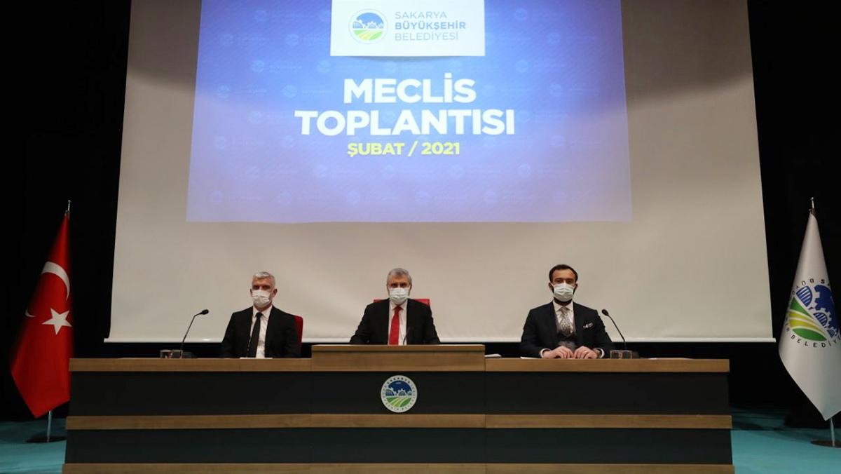 Sakarya Büyükşehir Meclisi; 51 maddeyi karara bağladı