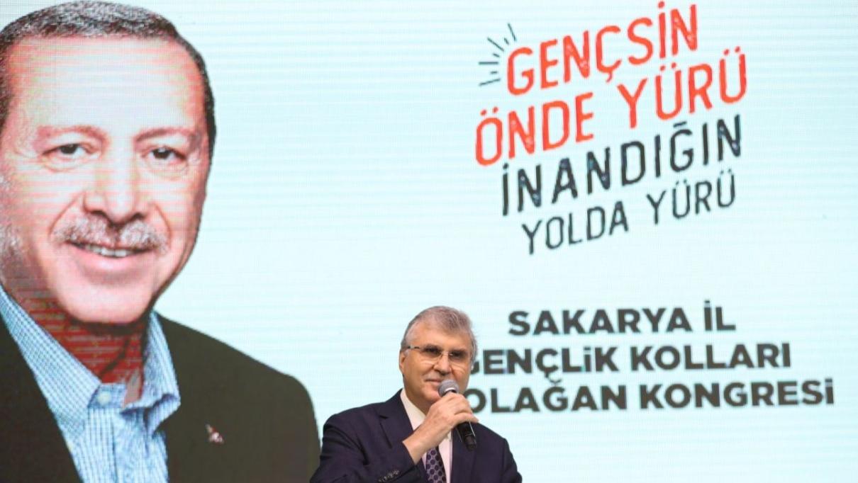 """Başkan Yüce kongrede konuştu: """"AK Parti davasının taşıyıcısı gençler olacak"""""""