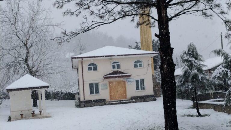 Boğazköy'de Camii yenilendi