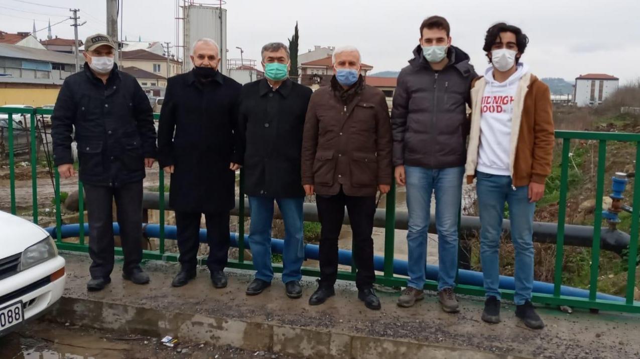 DP İl Başkanı Ergül ve ekibi Kaynarca'da