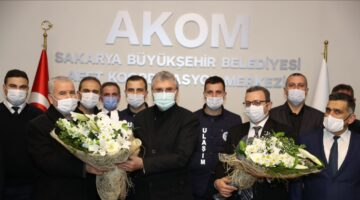 Başkan Ekrem Yüce, Ulaşım Dairesi Başkanlığı çalışanları ile AKOM'da buluştu