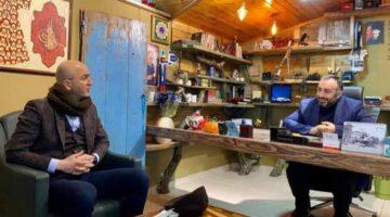 Ender Serbes'ten LC Haber Ajansı'mıza ziyaret