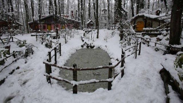 Kocaeli'den doyumsuz kar manzaraları
