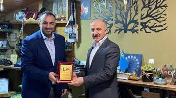 Başkan Ali Karslı'dan Ajansımıza ziyaret…