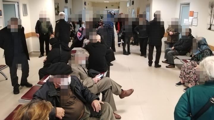 Burası Yenikent Devlet Hastanesi! Covid-19 Aşı Sırası