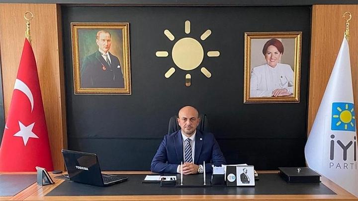 İYİ Parti İl Başkanı Kılıçaslan'ın 3 aylar mesajı