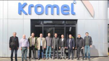 SASİAD yönetiminden Kromel'e ziyaret