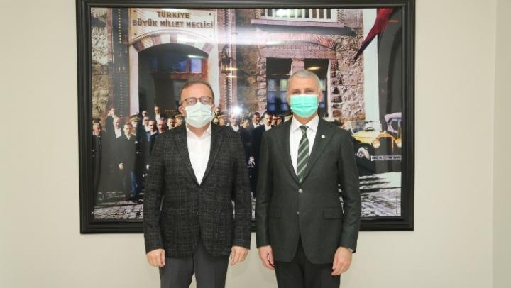 BİK Genel Müdürü DURAN'dan AKGÜN'e ziyaret