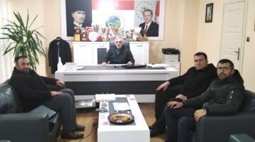 Ali İnci'ye bir ziyarette LC Haber Ajansı'ndan