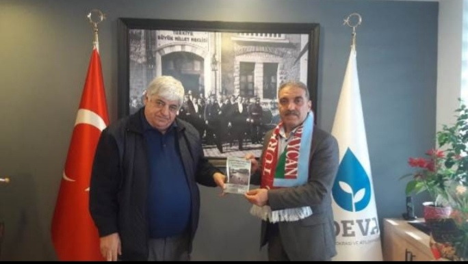 Azerbaycan Federasyonu'ndan DEVA'ya iade-i ziyaret