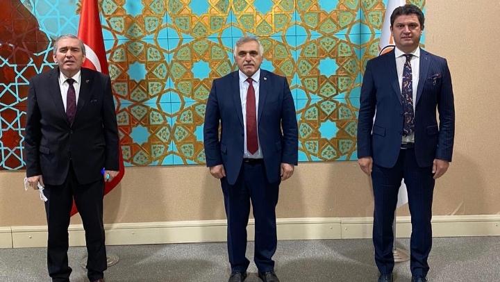 ASKF Başkanı Zımba ve Yardımcısı Kobaş; Ankara'da görüştü…