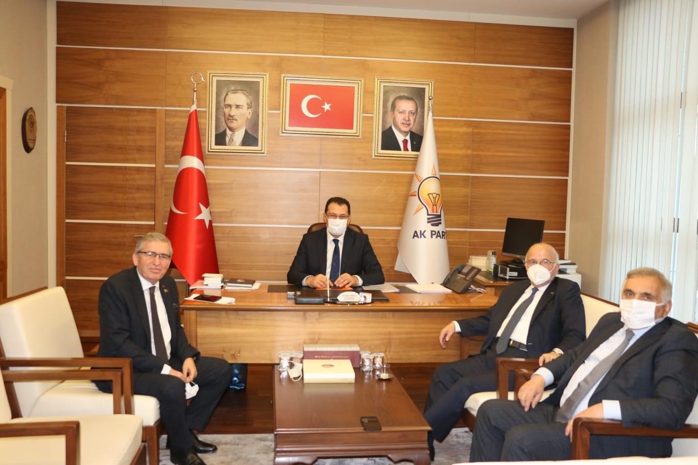 Yaşar Zımba; 76 kulüp listesini Ali İhsan Yavuz'a verdi