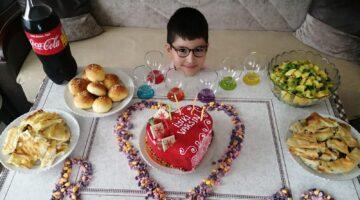 Fatih Berke'nin10. Yaş mutluluğu