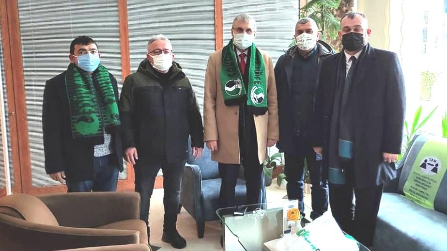 Başkan Ekrem Yüce Ankara'da Sakaryaspor'u ziyaret etti