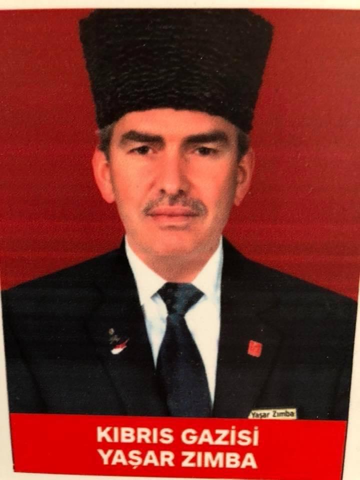 Kıbrıs Gazisi, Sakarya ASKF Başkanı Yaşar Zımba'nın Çanakkale zaferinin 106. Yılı kutlama mesajı..