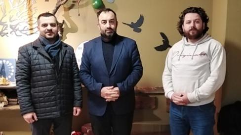 Deva Partisi Adapazarı İlçe Başkanı Ömer Aktaş Ajansımızı ziyaret etti