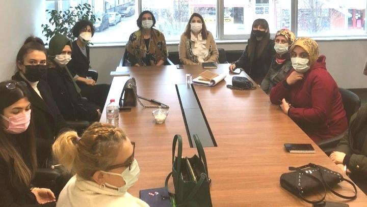 Deva'nın İlçe başkanları ve Kadın Çalışmaları üyeleri biraraya geldi