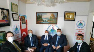 Sakaryalı Genel Başkan Aygündüz'ü ziyaret ettiler