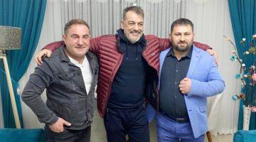 Ünlü sanatçı Recebim ve Ali Çevik; Çetin Uzun'a misafir oldu