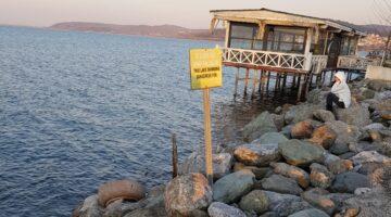 Sapanca gölü yağışlara rağmen halen can çekişiyor