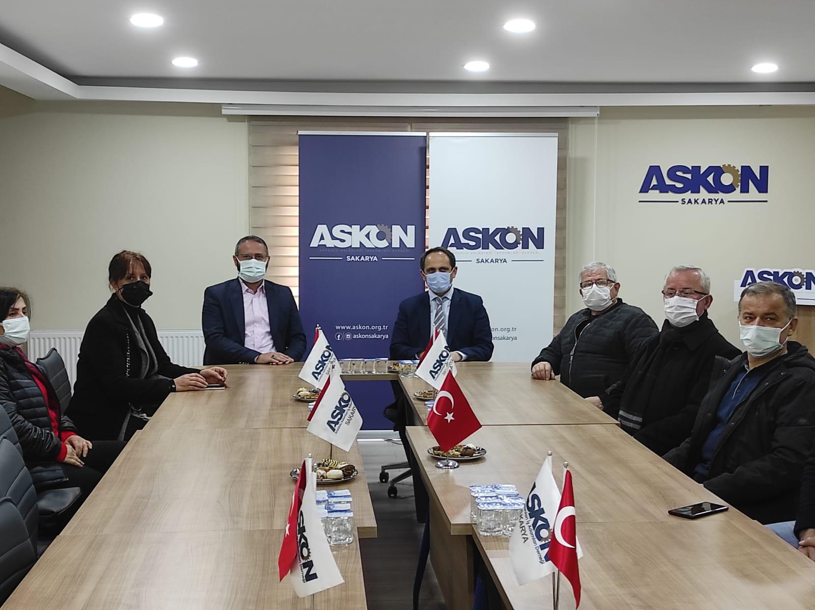 ASKON CHP'Yİ Ağırladı