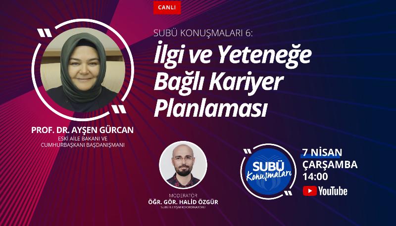 Prof. Gürcan ile kariyer yolculuğunun ipuçları