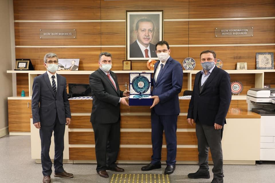"""""""Belediye Başkanı İshak Sarı'nın Başkent Ziyaretleri Devam Ediyor"""""""