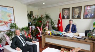 Başkan Altuğ'dan SASKİ Genel Müdürü'ne Hayırlı Olsun Ziyareti
