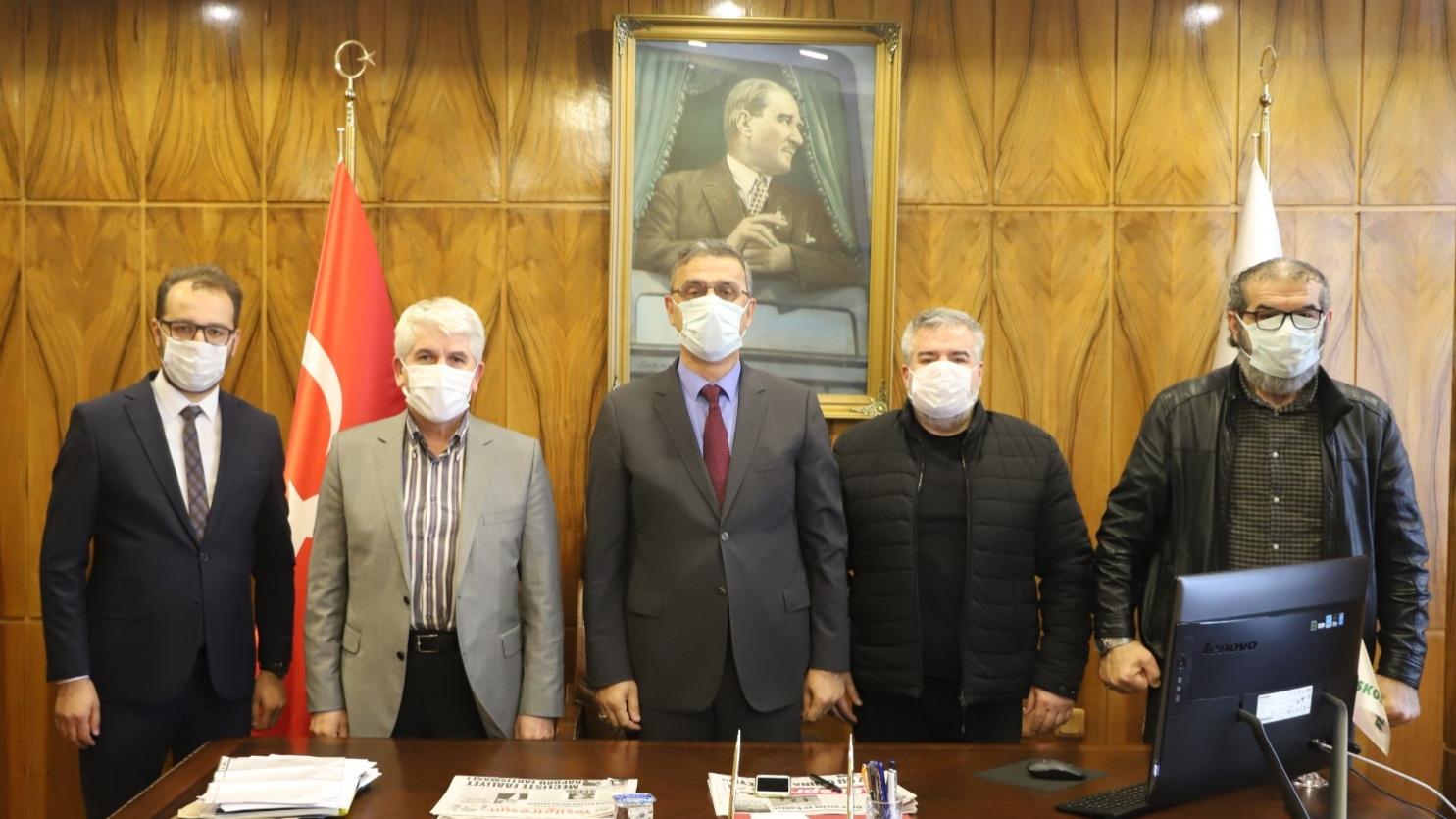 AK Parti MKYK Üyesi Burhan Sakallı'dan FİSKOBİRLİK'e ziyaret