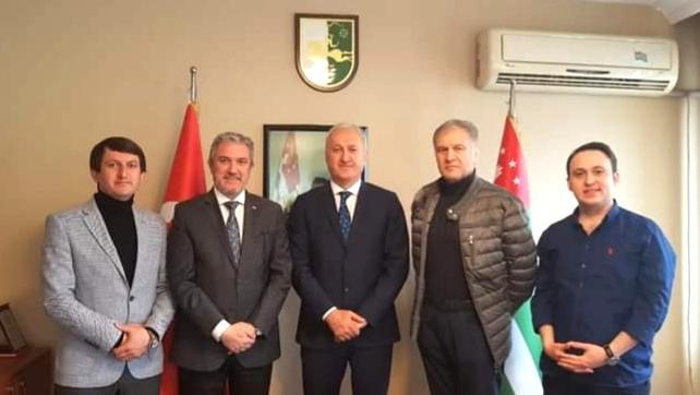 Abhazya Cumhuriyeti Türkiye Temsilcisi göreve başladı